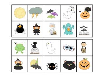 Halloween game and craftivity starter kit.