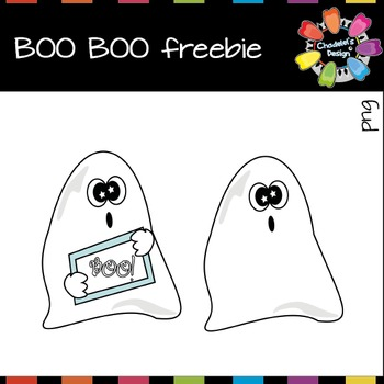 BOO BOO Ghosts Freebie [Halloween Clips]
