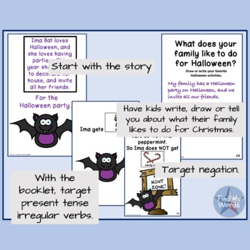 Halloween grammar activity