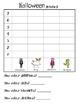 Halloween graphing Math center- Grade 1