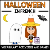 Halloween Activities and Games in French - L'Halloween en Français