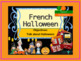 Halloween in French bundle