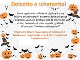 Halloween in Italia Gli articoli ed i sostantivi