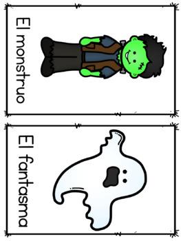 Halloween in Spanish Bingo Boards - Noche de Brujas