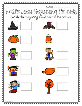 Halloween in the Special Education Classroom: math, reading and writing
