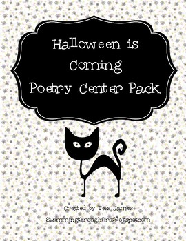 Halloween is Coming  Poetry Center Pack