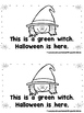 Halloween is Here  (A Sight Word Emergent Reader and Teach