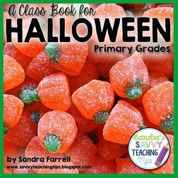 Halloween is Here - a Class Book