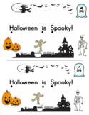 Halloween is Spooky Emergent Reader