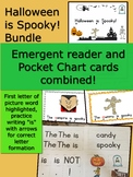 Halloween is Spooky! Bundle Emergent Reader with Pocket Ch