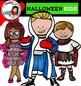Halloween kids-color and B&W