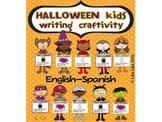 Halloween kids craftivity