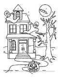 Halloween kitchen equivalents color by number