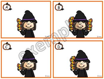 Halloween: les bonbons de la sorcière