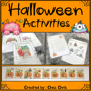 Halloween: let's have fun with these activities !