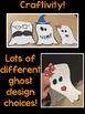 Narrative Halloween leveled reading, writing, and craftivity