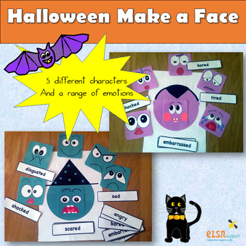 Halloween - make an emotion