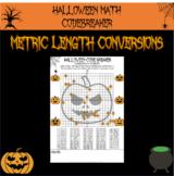 Halloween math - coordinates in 4 quadrants Halloween code breaker