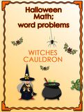 Halloween math lesson - word problem investigation