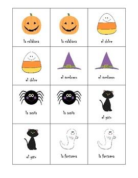 Halloween memoria- Memory Game