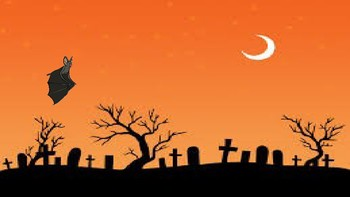 Halloween moving targets throwing activity