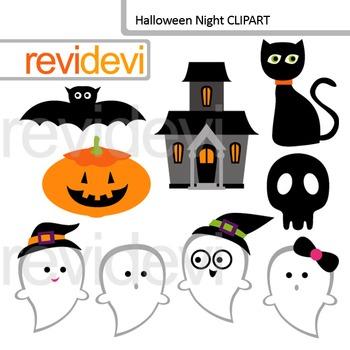 Halloween night clip art