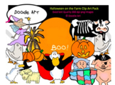 Halloween on the Farm Clipart Pack