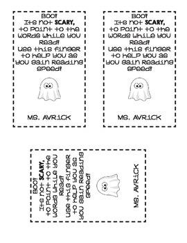 Halloween or Harvest Treat Bag Label