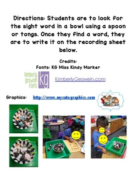 Halloween palabras frecuentes/ sight words recoding sheet