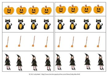 Halloween patterning cut-outs Free addition to Halloween Pack