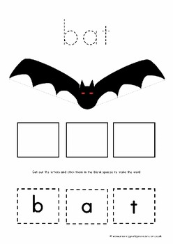 Halloween preschool and prek teaching pack.