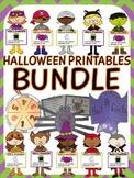 Halloween printables bundle