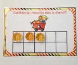 Halloween pumpkins ( FRENCH math) - Combien de citrouilles?