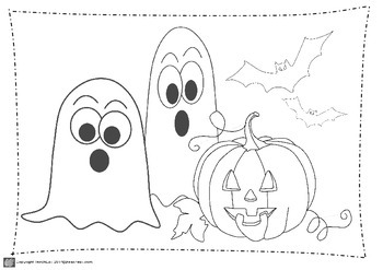 Halloween puzzles, craft, dot to dot and coloring.