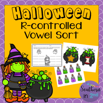 Halloween Sort: R-Controlled Vowels
