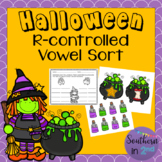 Halloween r-Controlled Vowel Sort FREEBIE!