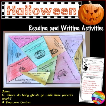 Halloween reading Activities for Literacy Centers