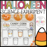 Halloween science experiment with Candy Corn