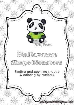 Halloween shape monsters