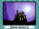 Halloween silhouette art