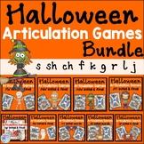 Halloween speech activities