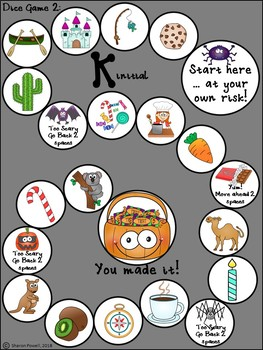 Halloween Speech Therapy Activities  for k words