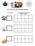 Halloween- stamps and numbers- Bilingual
