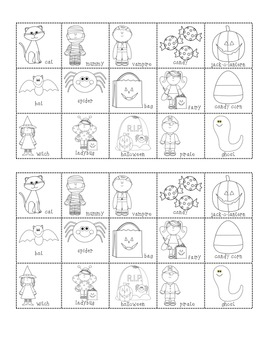 Halloween syllable sort - common core aligned