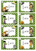 Halloween task cards - unit fractions of whole numbers