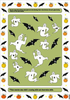 Halloween theme exercises