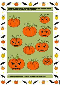 Halloween theme exercises
