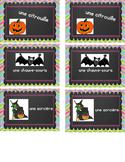 Halloween theme memory game FRENCH