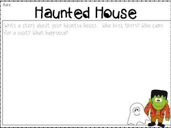 Halloween Writing Prompts Pinterest