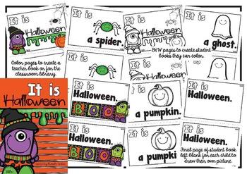 Halloween Themed Emergent Reader  **It is…Halloween**